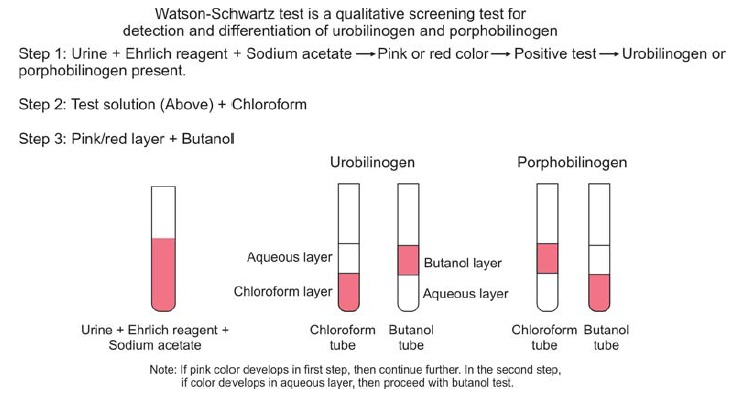 Figure 818.2 Interpretation of Watson Schwartz test