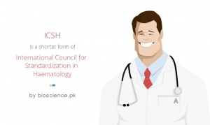 International Council for Standardization in Haematology (ICSH)