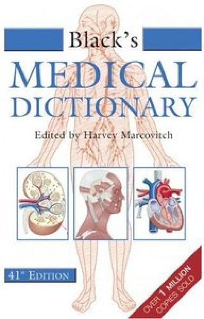 Black Medical Dictionary 41st Edition - 2005