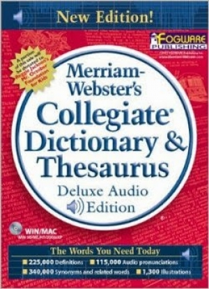 Merriam-Webster's Collegiate Dictionary and Thesaurus