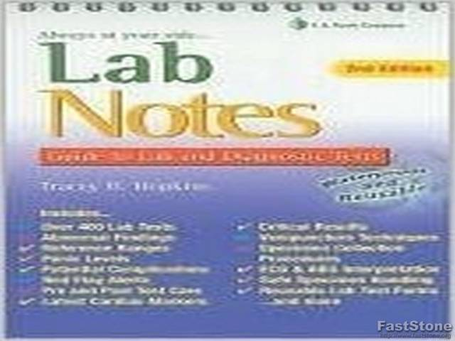 Download Lab Notes: Guide to Lab & Diagnostic Tests by Tracey Hopkins