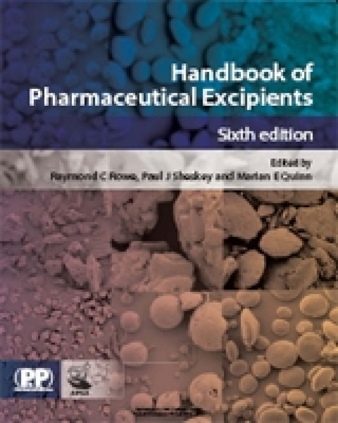 Handbook of Pharmaceutical Excipients, 6th Edition