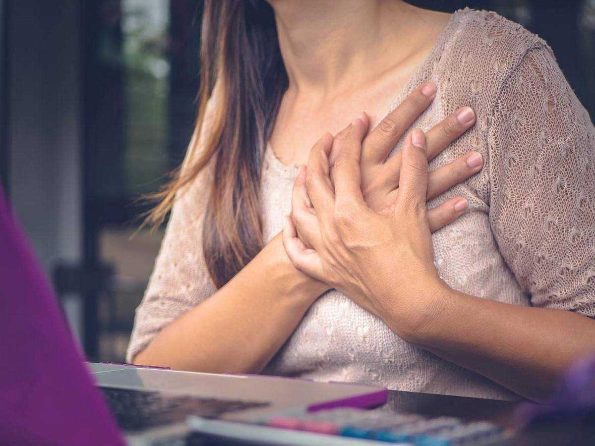 Chest pain that comes and goes might be due to a heart problem or respiratory or digestive issues.
